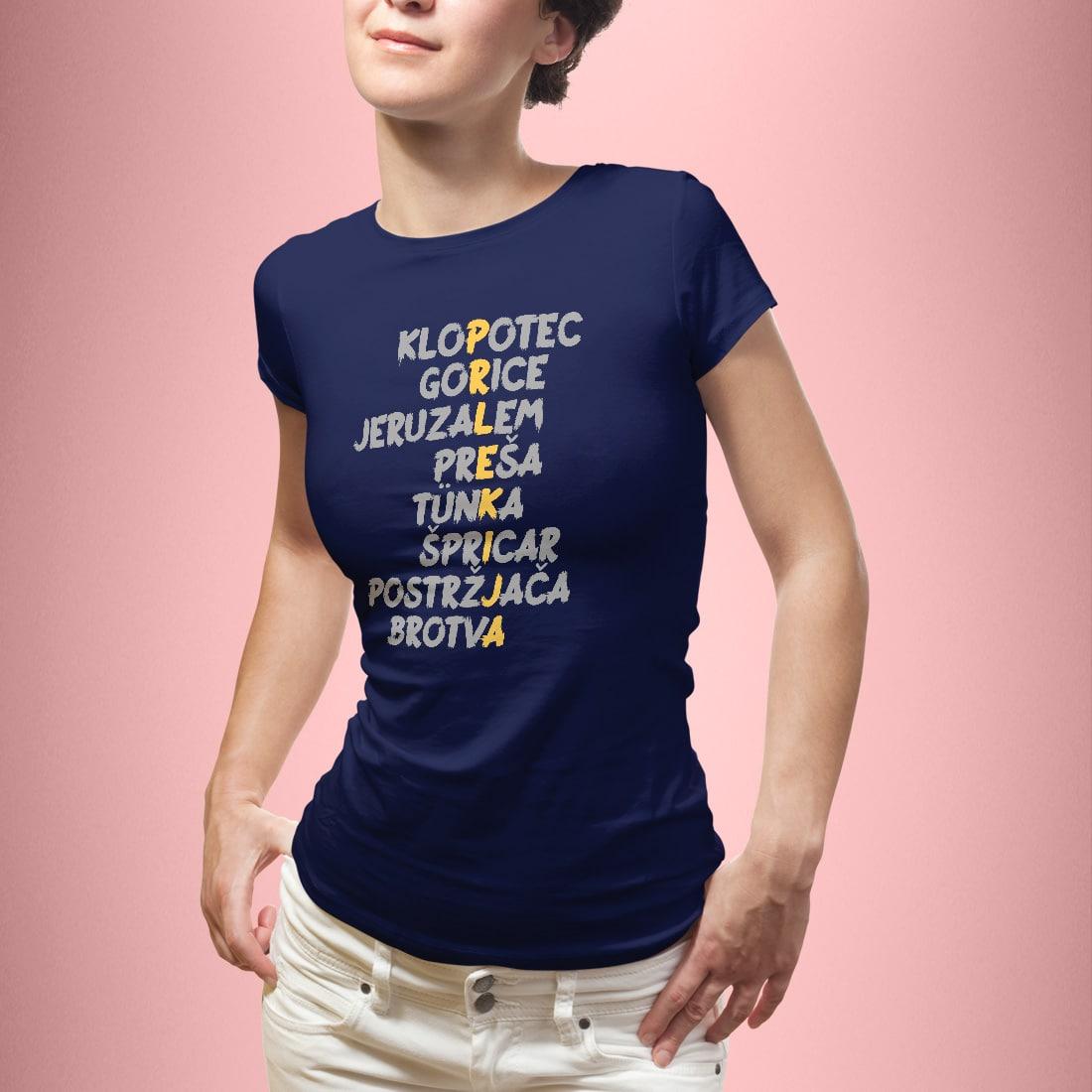 Prlekija ženska - globoko modra