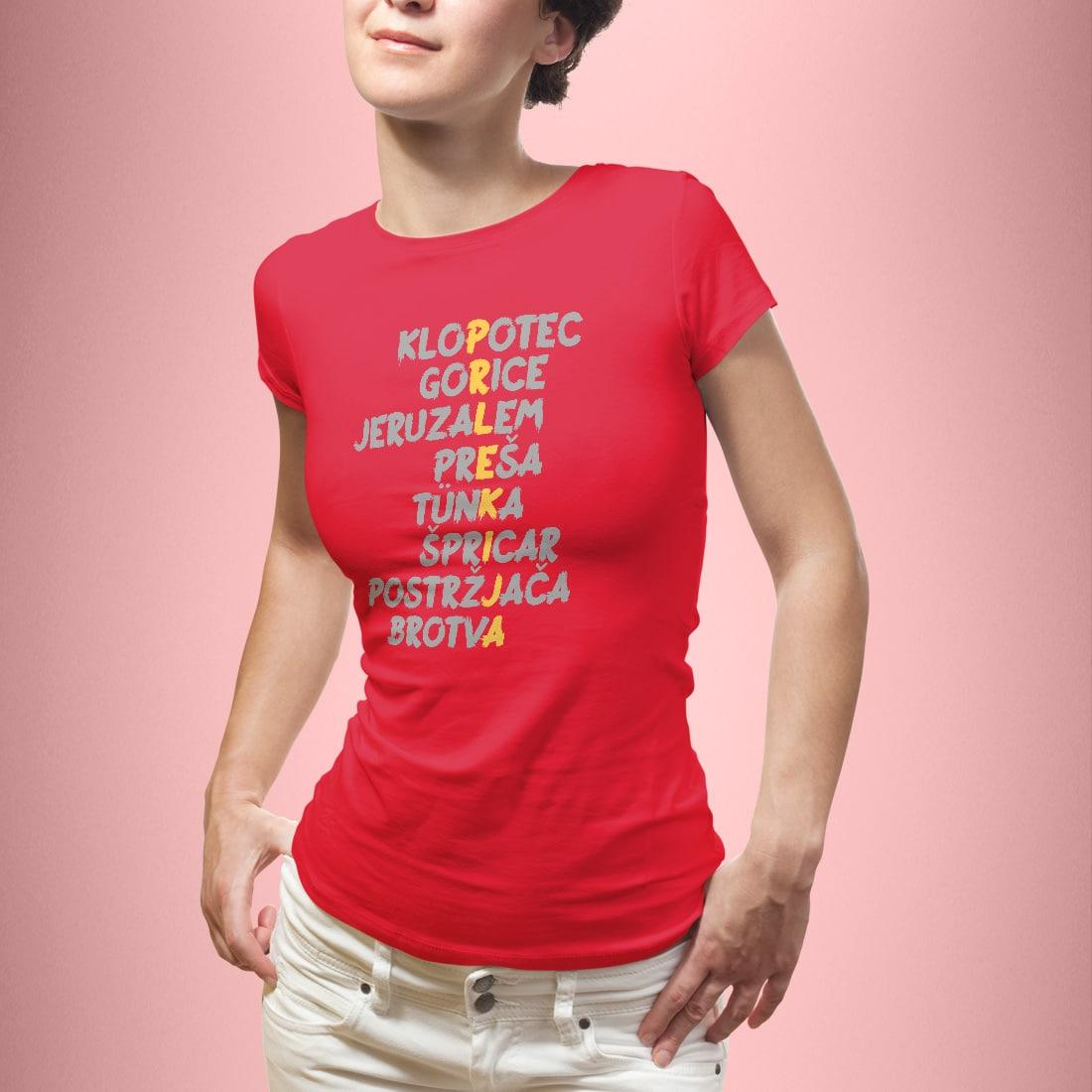 Prlekija ženska - rdeča