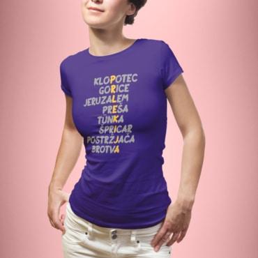 Prlekija ženska - vijolična