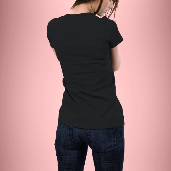 Hrbtna stran ženska