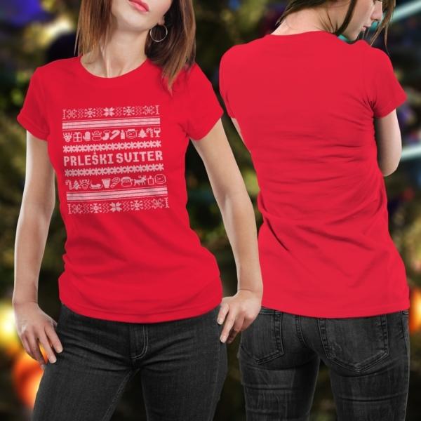 Prleški sviter ženska - hrbtna stran
