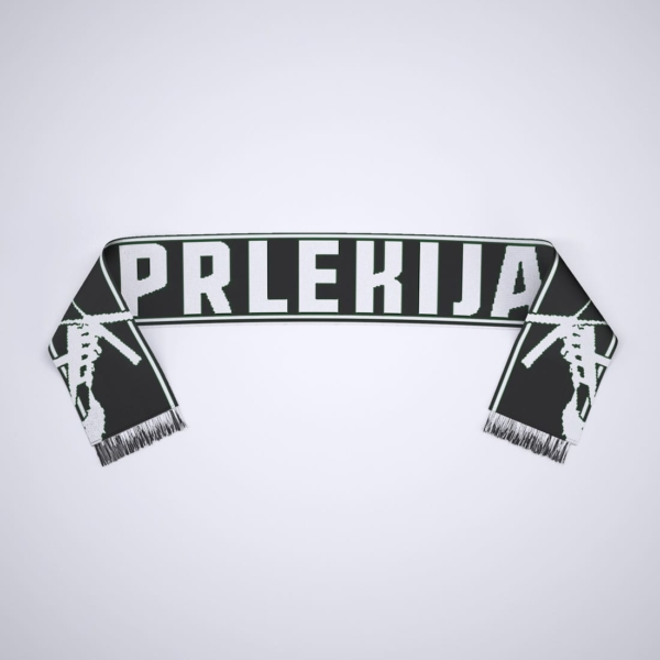 Šal Prlekija - črn